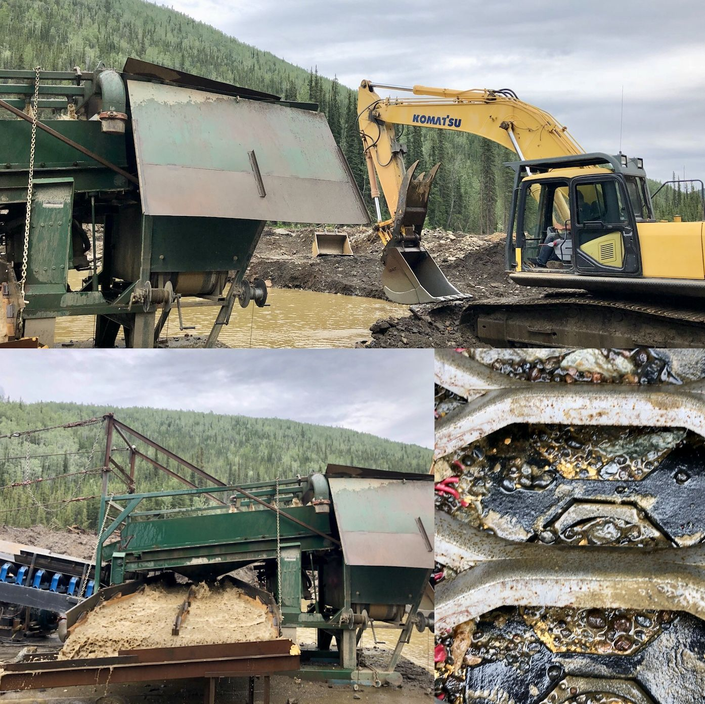 New mining operation on our Bruin Creek claims