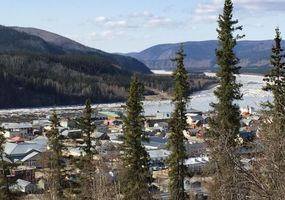 View of Dawson City