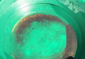 Gold in der Waschpfanne