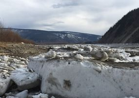 spring at Yukon River
